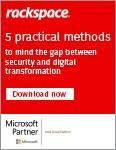 5 Practical Methods to Mind the Gap between Security and Digital Transformation