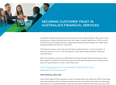 Securing Customer Trust In Australia's Financial Services